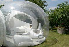 Transperent Camping Tent - An ideal item for camping with children:=) Transparan kamp çadırı çocuklarla kamp tatili için ideal bir seçim:=)
