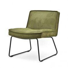 By-Boo Fauteuil Montana Touareg Montana, Outdoor Chairs, Outdoor Furniture, Shops, Interior Concept, Transitional House, Barcelona Chair, Green Suede, Chair Fabric