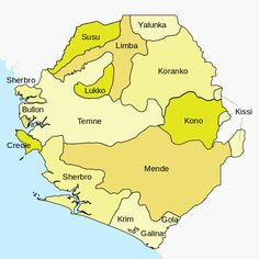 Sierra Leone is very diverse in its culture and languages and Freetown serves as the melting pot for all these people's cultures. African States, African Nations, Political Culture, Geography Map, Peace Corps, The Settlers, Black History Facts, African Animals, West Africa
