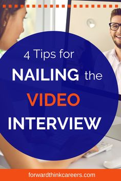 Hey job seekers - it seems very clear that video interviews are here to stay! So if you're wondering the best way to prepare for these virtual interviews including the best tech setup, background, outfit to wear, click here to learn these helpful tips. Career Success, Career Coach, Career Change, Career Advice, Video Interview Tips, Job Interview Preparation, Interview Questions, Online Job Applications, Finding A New Job
