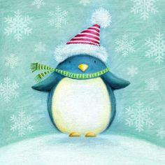 Ileana Oakley - penguin christmas cute.jpg