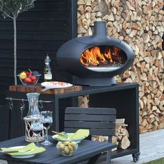Up your outdoor cooking game this summer with a little help from an on-trend pizza oven