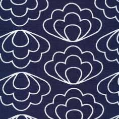 127512 Ripple | Navy from Time Warp by Jessica Jones for Cloud9 Fabrics