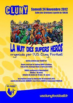 USC foot - soirée super héros 2012