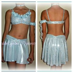 Lyrical costume with high/low skirt