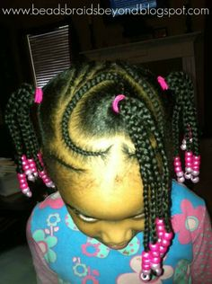 Beads, Braids and Beyond: Another Adorable Heart Hair Style! Little Girls Natural Hairstyles, Cute Hairstyles For Kids, Hairstyles For School, Valentine's Day Hairstyles, Kid Braid Styles, Heart Hair, Queen Hair, Braids For Kids, Hair Photo