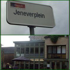 Hasselt, Jeneverplein and the Jenever museum.