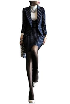 dc85e68eef6e8 Tootless-Women Vogue Dresses Work Office Elegent 2 Piece Blazer Suits Blazer  Dress