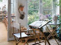 a little space near a garden would be nice.