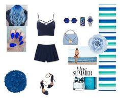 """""""BLUE SUMMER <3"""" by leylab ❤ liked on Polyvore featuring Sky, Rolex, Casetify, Charlotte Russe, Illamasqua, Tommy Hilfiger, Lacoste L!VE, Mark Cross, Monsoon and men's fashion"""