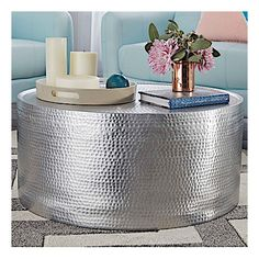 11 best hammered coffee table images hammered coffee table living rh pinterest com