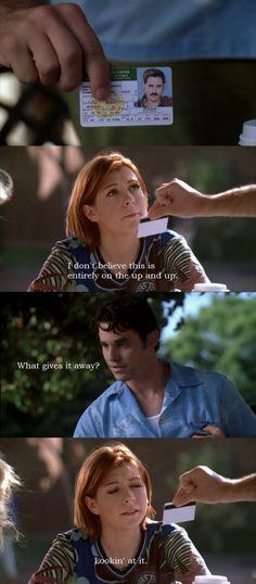 Willow and Xander, hahahaha