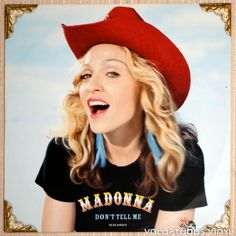 "Madonna – Don't Tell Me (2000) 12"" Single UK Pressing"