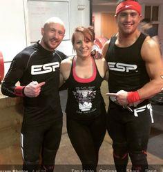 Gaz Evans & Sonny Webster GB Weightlifters on Titans Tour meeting @wanderingweightlifter