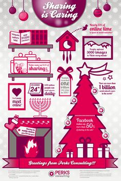 Holiday infographic designs