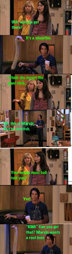 Icarly: a spencer moment!