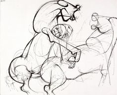Work by the South African artist Dumile Feni South African Artists, Artsy, Sketches, Horses, Sculpture, Gallery, Drawings, Inspiration, South Africa