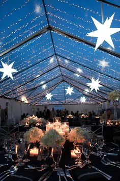 """Starry, Starry Night"" Wedding Theme 