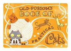 Old Possum's Book of Practical Cats, illustrated by Catillest