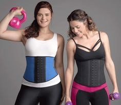 Wondering what #exercises are best while wearing a waist trainer? Check out these tips on our blog. #HourglassAngel