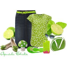 """Last Of The Summer Lime"" by apostolicchickie on Polyvore"
