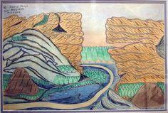 JosephYoakum, Drawing, Folk Art / Outsider Art