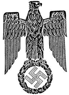 Nazi Eagle Swastika emblem