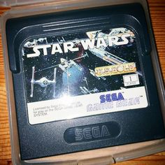 theunheardnerd: It's been a while since I played #StarWars on the #Sega #GameGear. Never did finish it. #gamersunite #gamegear #microobbit