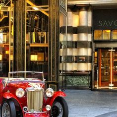 The Savoy~ London