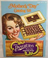1968 Mother's Day Catalog Pangburn's Chocolates Candy Co Fort Worth Texas