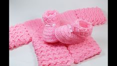 Crochet baby shoes very easy