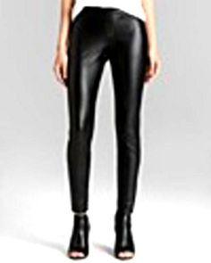 836288728b Hue Black Leatherette Leggings-MEDIUM-BRAND NEW NEVER WORNNO SALES TAX  HUE