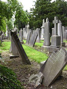 Glasnevin Cemetery-Dublin Ireland. Halloween cemetery inspiration.