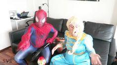 Spiderman 2016, Spiderman Kids, Kids Nursery Rhymes Songs, Kids Songs, Party Cartoon, Cartoon Kids, Marvel Comics, Spiderman And Frozen, Real Life Video