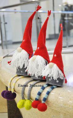 Купить Рождественский Гном. Он же домовёнок (средний) в интернет магазине на Ярмарке Мастеров