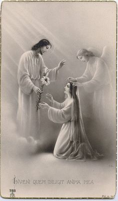 Jesus our Christ. First communion Religious Pictures, Jesus Pictures, Religious Art, Vintage Holy Cards, Bride Of Christ, Jesus Is Lord, Prayer Cards, Blessed Mother, Faith In God