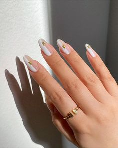 Nail Design Stiletto, Nail Design Glitter, Fabulous Nails, Perfect Nails, Subtle Nails, Les Nails, Modern Nails, Fire Nails, Minimalist Nails