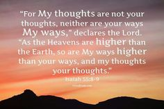 Jesaja 55 vs 8en 9