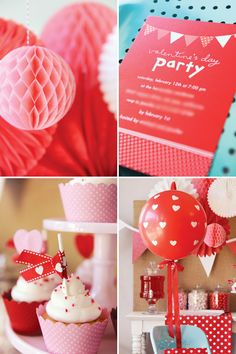 "Sweet & Simple ""Be My Valentine"" Party"