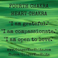 chakra 4 affirmations