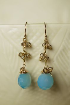 Anne Vaughan Designs - Painted Desert Gemstone Fancy Dangle Earrings, $32.00 (http://www.annevaughandesigns.com/painted-desert-handmade-gemstone-dangle-earrings-for-women/)