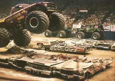 1991+%40+the+Inglewood+Fourm Tractor Pulling, Taurus, Tractors, Monsters, Monster Trucks, Tractor, Monster Crafts