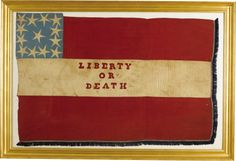 Civil War Auction Sold Prices: Confederate Death or Liberty Flag