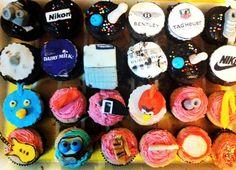 Customised Cupcakes!!! :)