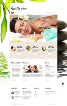 Beauty salon website template pinterest web design layouts inspire yourself beauty salon responsive joomla template view live demo httpcattemplatewebsite templatebeauty salon responsive joomla template 5 solutioingenieria Images