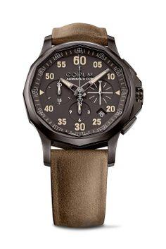 CORUM Admiral's Cup Legend 42 Chronograph #luxurywatch #Corum-swiss Corum Swiss Watchmakers watches #horlogerie @calibrelondon