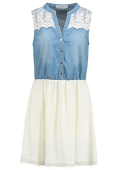 Vestido camisero - bleached