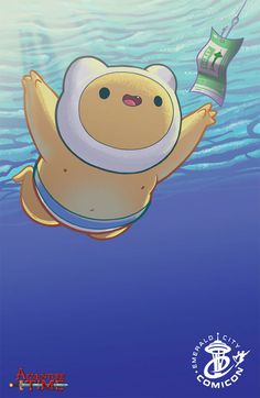 We were going to make a bad pun or play on words about this exclusive, but nevermind. boompen:  ECCC Variant ADVENTURE TIME #25 by Ian McGin...