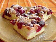 Prajitura simpla cu visine Cherry Desserts, No Cook Desserts, Sweets Recipes, Easy Desserts, Cooking Recipes, Romanian Desserts, Romanian Food, Romanian Recipes, Snacks Sains