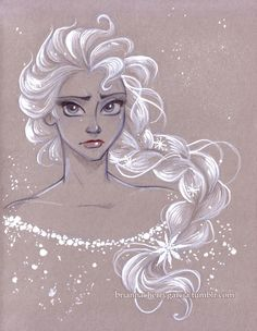 "Disney Elsa "" La Reine des Neiges """